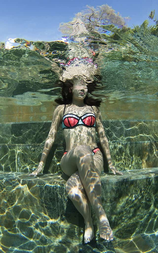 Beautiful Girl Underwater